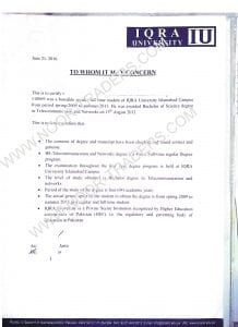 Saudi Culture, Islamabad new requirement for verification letter